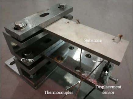 X. Lu et al. Fig. 4. Experimental setup to measure the distortion and temperature of the