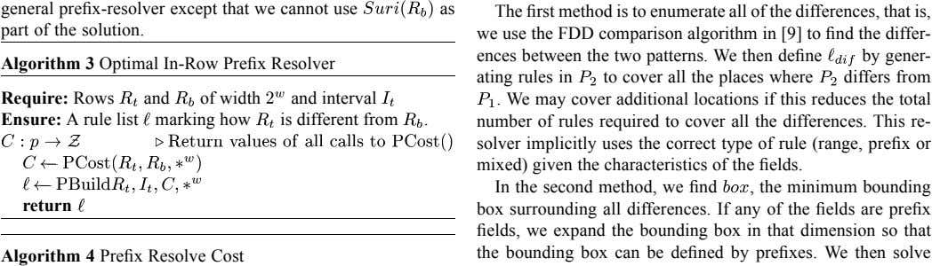 general prefix-resolver except that we cannot use part of the solution. as The first method