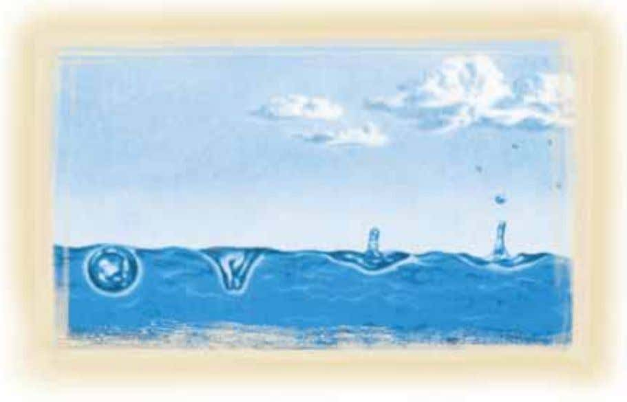 The above illustration shows the water droplets being released into the air. This is the first