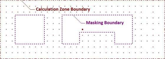 shown with a dashed purple line. The display of the Mask boundary can be turned on