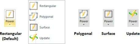 step. Select the luminaires to be associated to the Power Zone . Right-click the mouse or