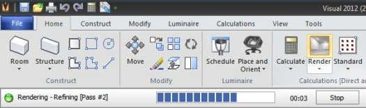 Model tab of the Luminaire Editor . If a Luminaire Model is not defined, the Luminaire