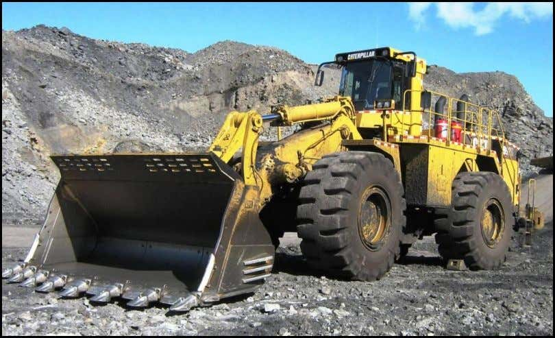 Operator TRAINING MANUAL (Sample Pages) 992 G Wheel Loader Sample Training Materials Prepared By: North Pacific