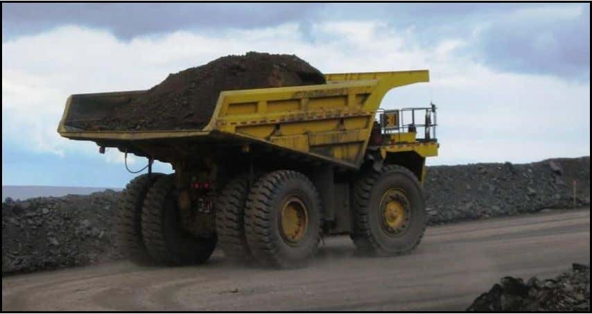 Training Manual Samples FAIRFIELD MINES Fully loaded truck leaves for the dump site. Page 8 ©North