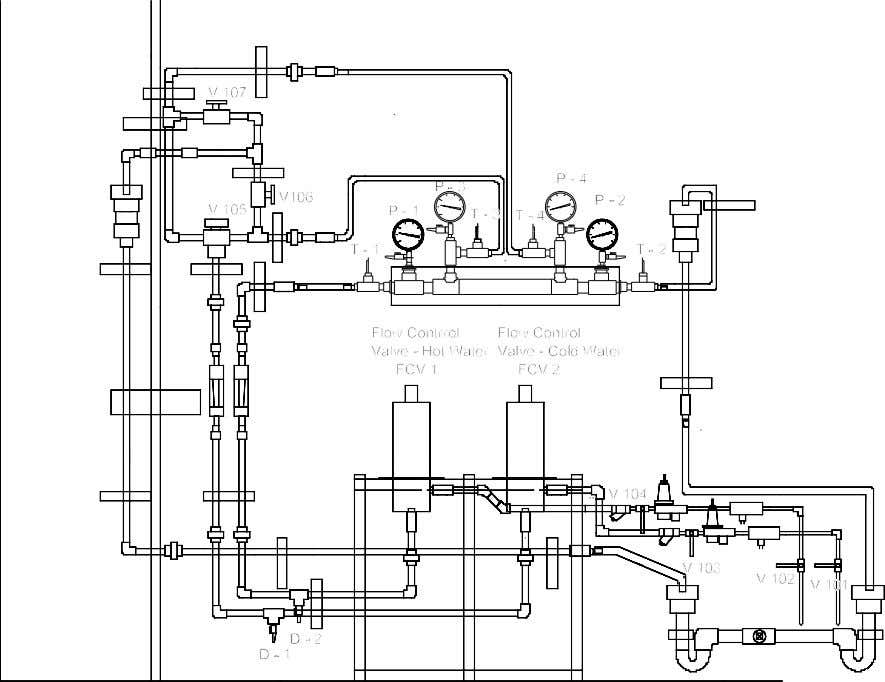 valves are opened with an open end wrench. Pull up on the Figure 2. Schematic diagram