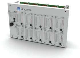 80 valves in total. Read more about our valve monitoring system in chapter 4. Valve monitoring