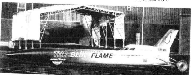"Record vehicles http://www.jetblack.co.nz/site/cms/lsr-history Rocket driven ""Blue Flame"" 1001,671 km/h, 1970 Thrust"