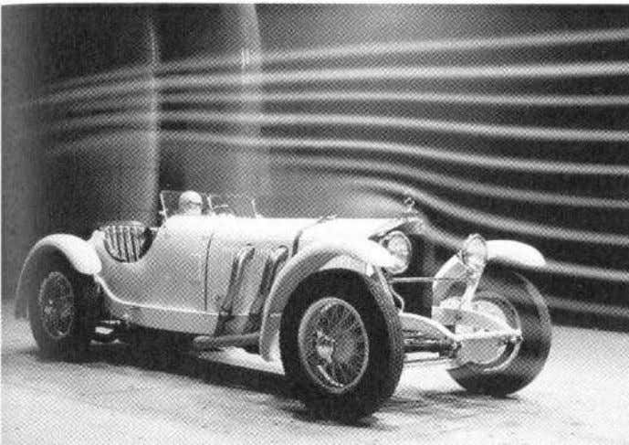 • separated mud guards • not aerodynamically optimized Example: Mercedes-Benz 720 SSK, 1928 A = 1.57