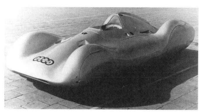 History • streamlined shape • fully covered wheels • Daimler-Benz, 1937 • Auto Union, 1937