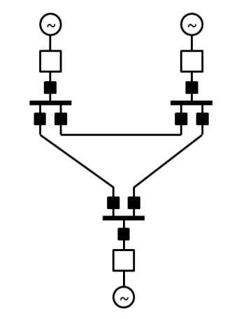 in Figure 2-2 in order to ensure selective disconnection. Figure 2-2 DC breaker locations to selective