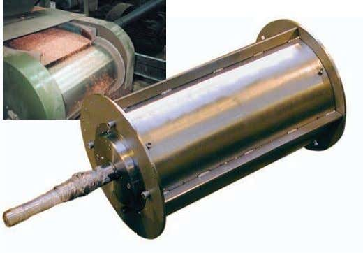 Magnetic drum Magnetic drums remove ferrous contaminants and tramp iron from bulk materials used in processing