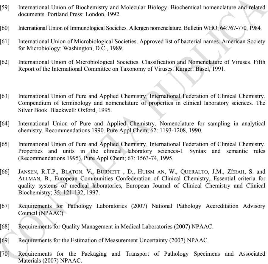 [59] International Union of Biochemistry and Molecular Biology. Biochemical nomenclature and related documents. Portland