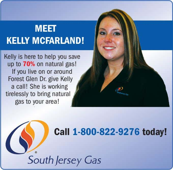 MEET KELLY MCFARLAND! Kelly is here to help you save up to 70% on natural