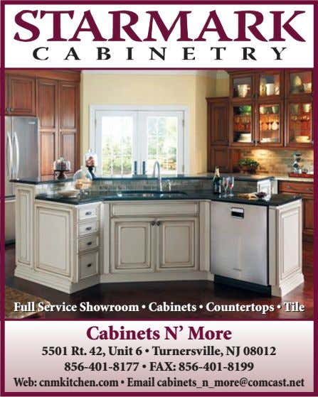 FullFull ServiceService ShowroomShowroom•• CabinetsCabinets •• CountertopsCountertops •• TileTile Cabinets