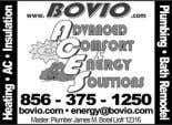 Toiletes for Rent $10 rebate w/this ad 609-268-2453 Plumbing & Drain Cleaning 856-858-1965 NO HEAT? OIL