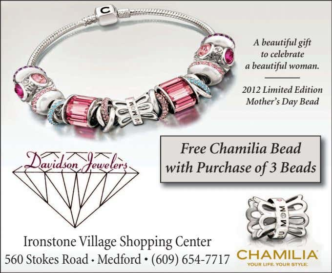 A beautiful gift to celebrate a beautiful woman. 2012 Limited Edition Mother's Day Bead Free
