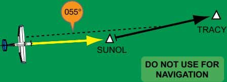 055° TRACY SUNOL DO NOT USE FOR NAVIGATION