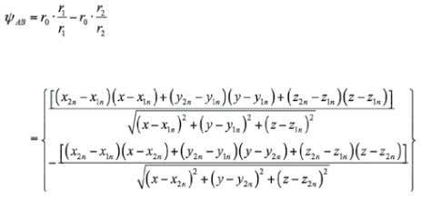 ment AB . The final expression yields Where, [18] And, The velocity induced by the trailing