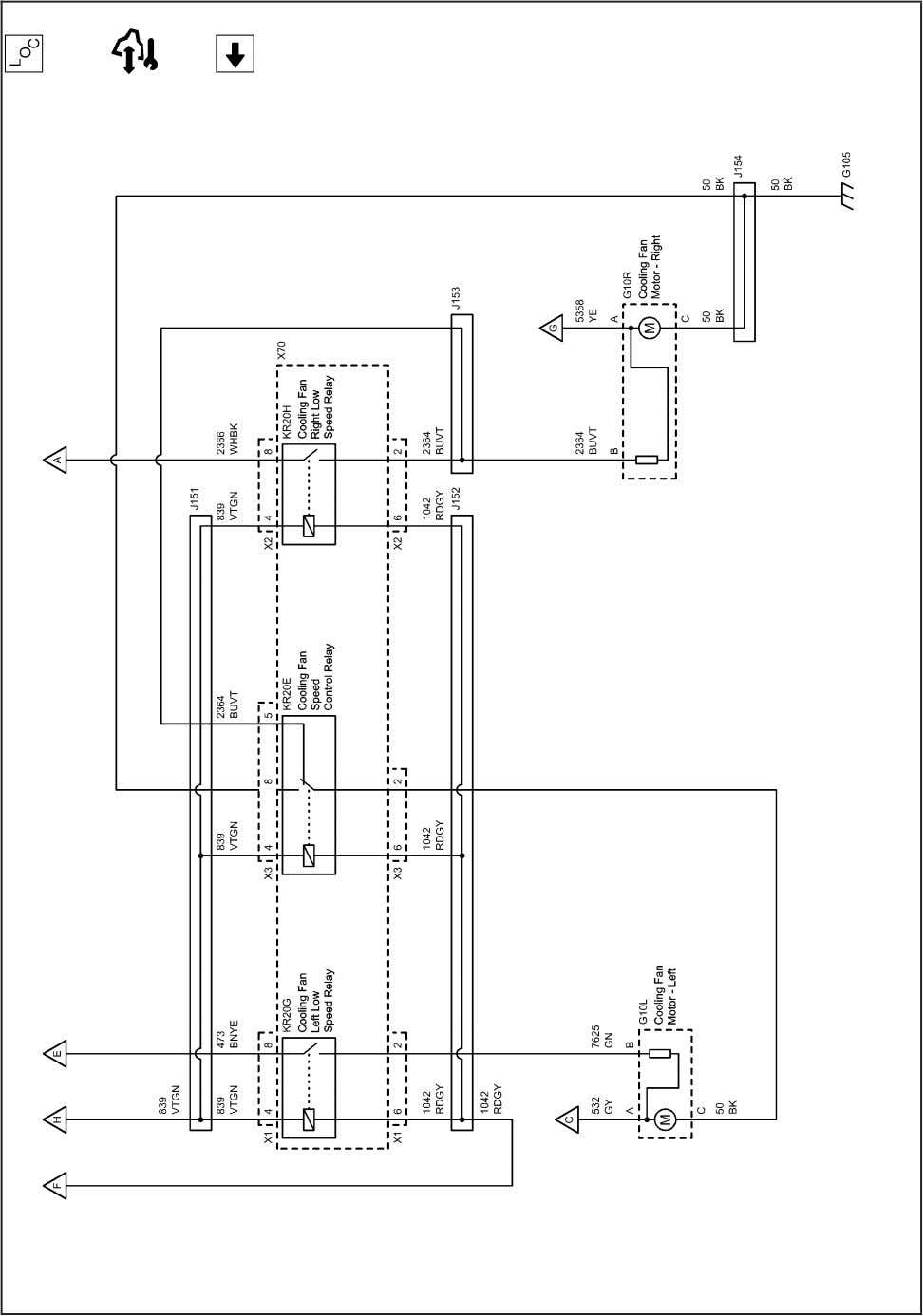 9-30 Engine Cooling 2202994 Engine Cooling Schematics (Engine Cooling (2 of 2) (LLW)) 2010 - Cruze