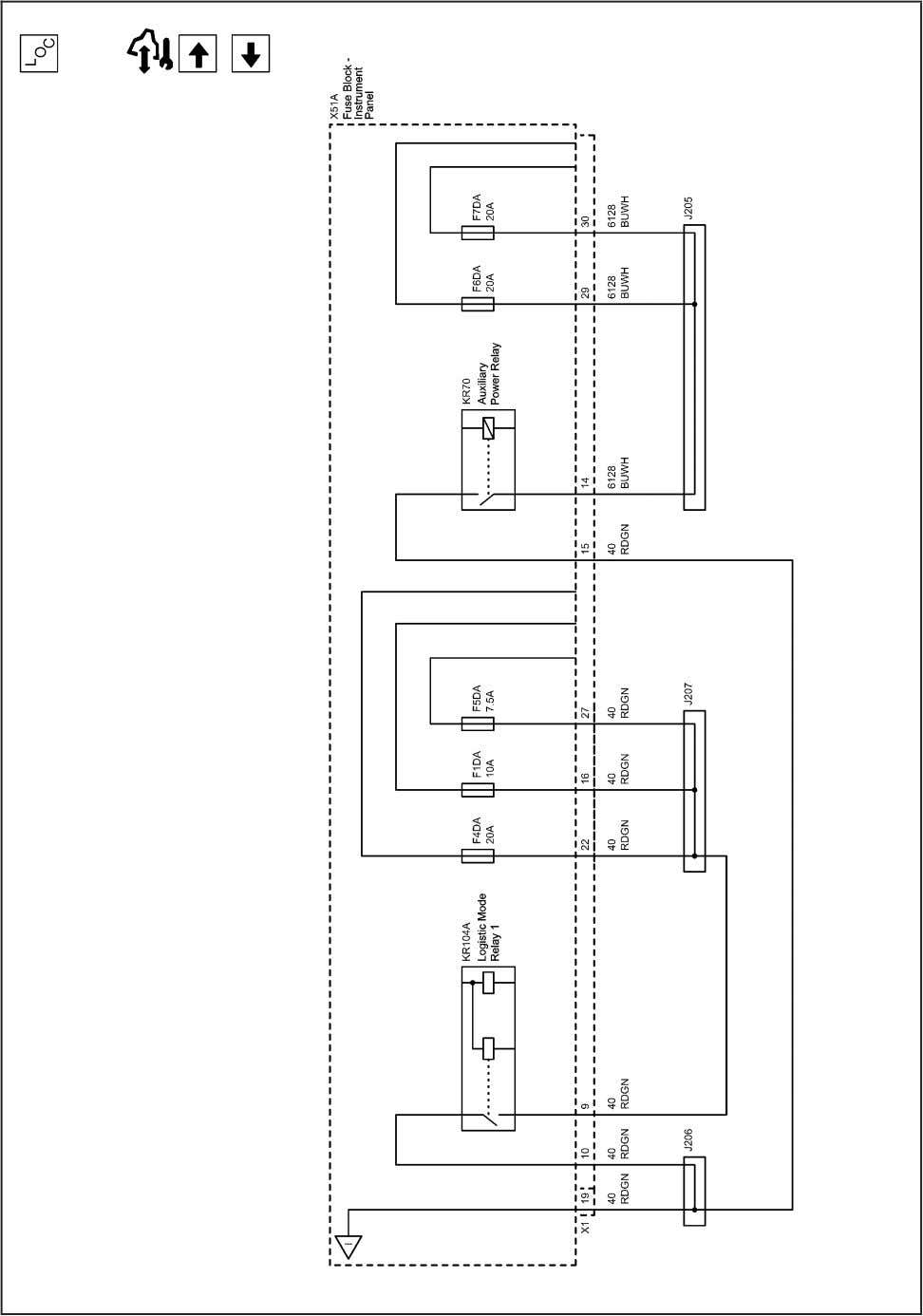 Systems and Power Management 11-55 2203081 Power Distribution Schematics (B+ Bus IEC (2 of 3)) 2010