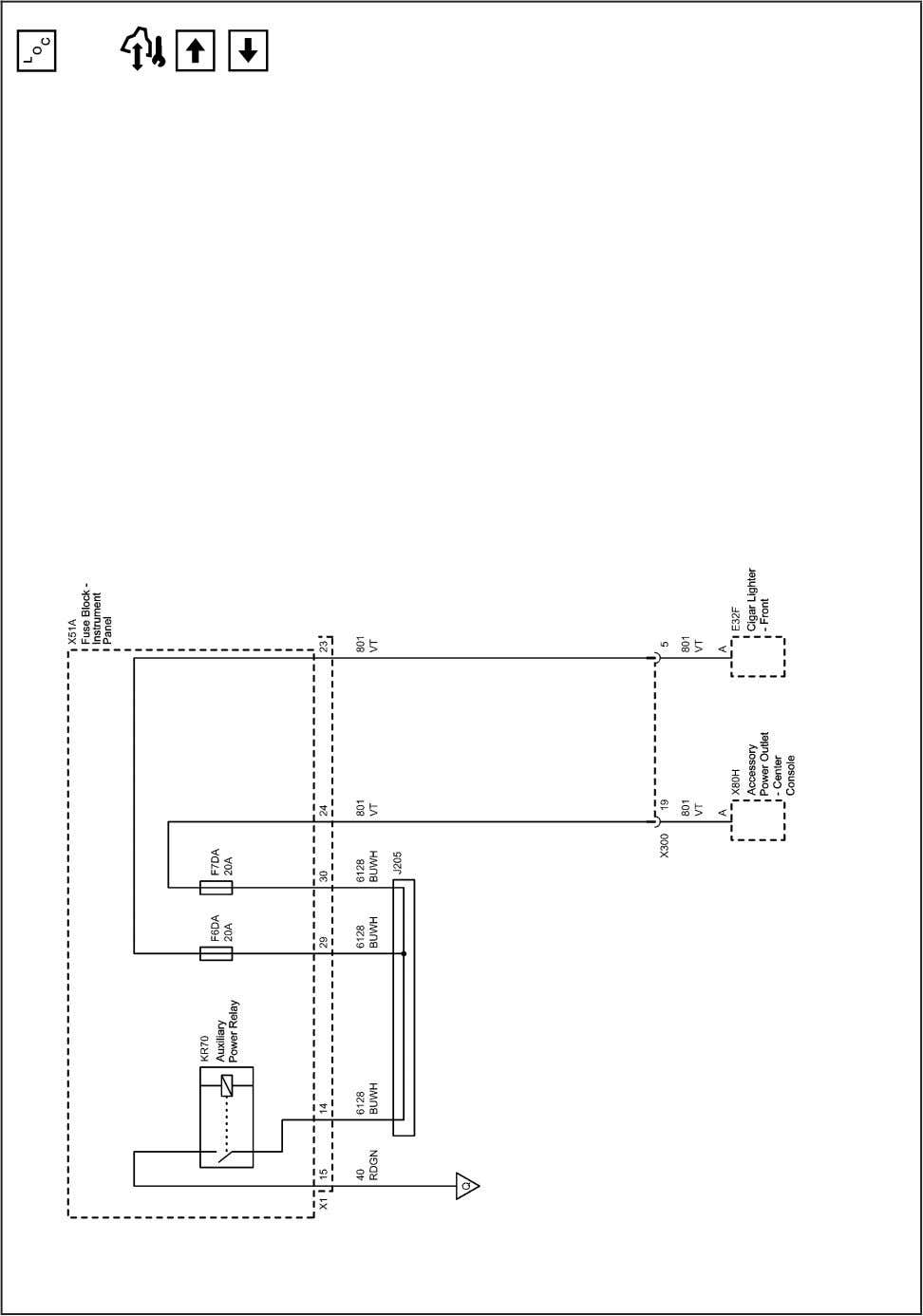 Systems and Power Management 2203150 Power Distribution Schematics (F6DA and F7DA Fuses) 2010 - Cruze Service