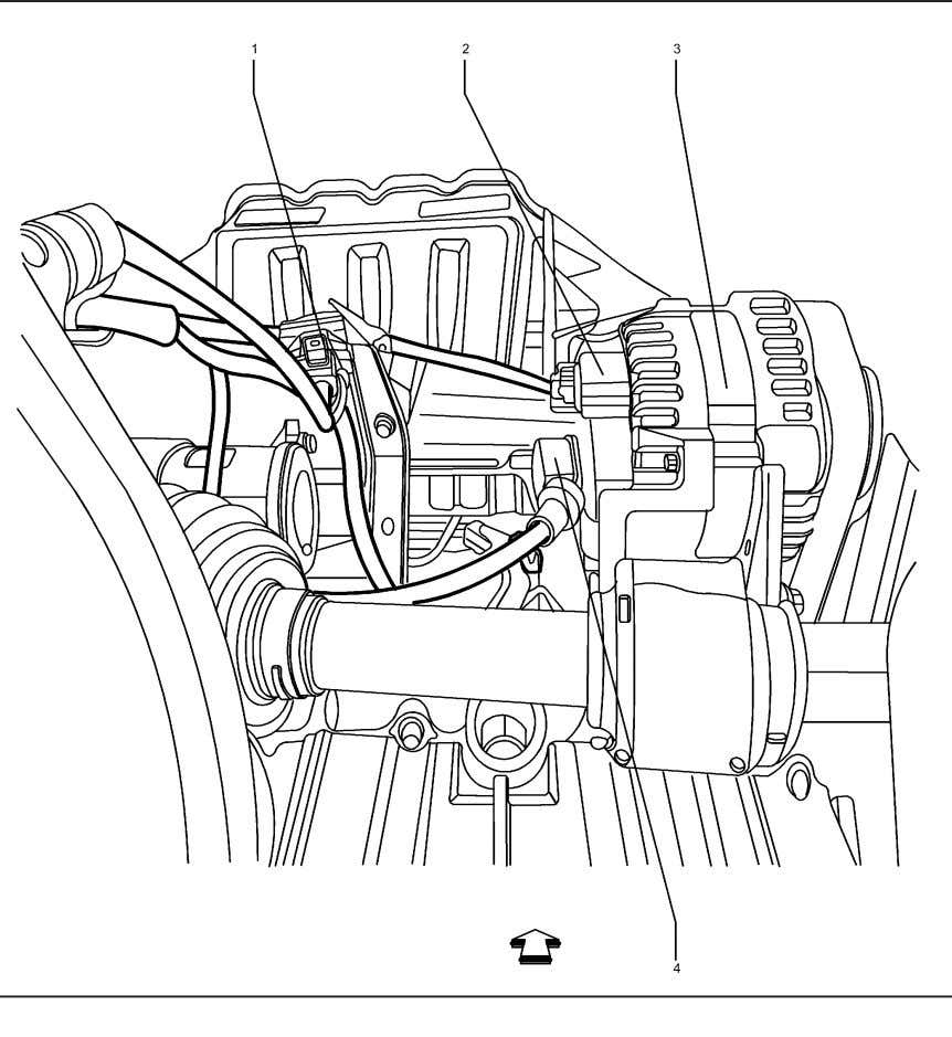 Management Lower Rear of the Engine Components (2H0 LDE LXV) 2224781 Legend (1) B52B Heated Oxygen