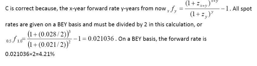 CFA Level 1 Practice Questions for Fixed Income Investments 44. Holding all other characteristics the same,