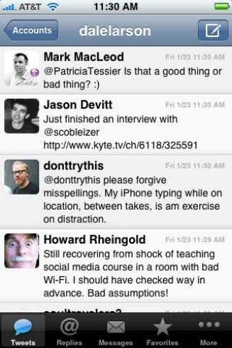 CHAPTER 4 FIGURE 6: TWITTER INTERFACE (Twitter, 2010) 27