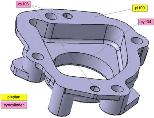 its functions. Then the relationships between these quality Fig. 6. Key operations of the cover workpiece.