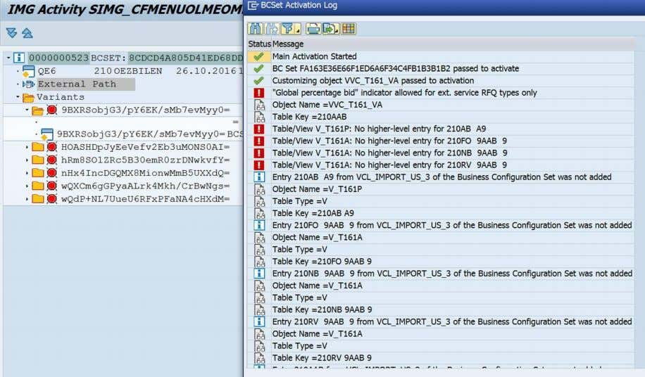 BB J20 (XX)_OP Package Version 1610 OP Affected activity SIMG_CFMENUOLMEOMEA Case 1 relevant for table/view V_T161P,