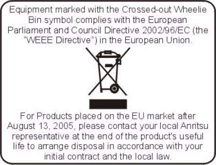 CHINESE RoHS STATEMENT EPCD DIRECTIVE 2002/96/EC PRODUCT DISPOSAL