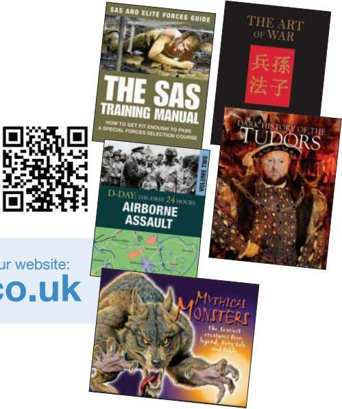 Editorial and Digital Enquiries Charles Catton Publishing Manager charles@amberbooks.co.uk Design Enquiries Mark Batley