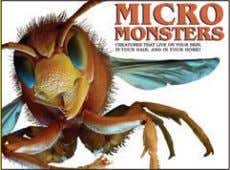 10,000 words Rights available: World ex Ca, Fi, In, US Micro Monsters 213 x 290mm (8½