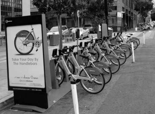 OF URBAN TRANSIT ARE ALSO REDUCING THE NECESSITY OF CAR OWNERSHIP Gov-sponsored Bike-Sharing 57 Private Company