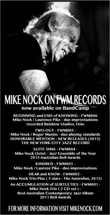 MIKE NOCK ON FWMRECORds now available on BandCamp BEGINNING and ENd of KNOWING - FWM006