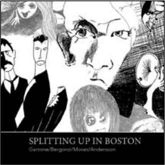 New release from daNish bass player riChard aNderssoN riChard aNderssoN - splittiNg up iN bostoN