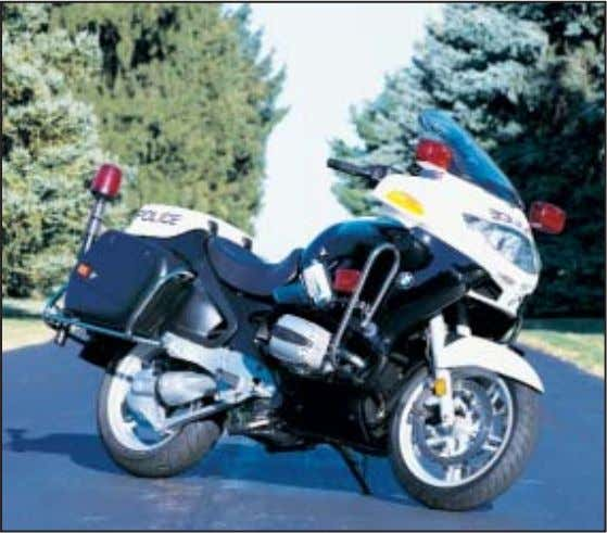 Rock-solid suspension. No other motorcycles on the road – except other BMWs of course – possess