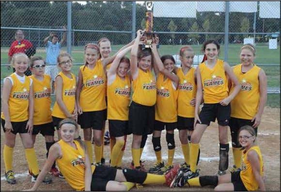 See YOUTH, Page 15 FLAMES WIN STONERSVILLE TOURNAMENT The Wyoming Valley Flames 10U girls fastpitch softball