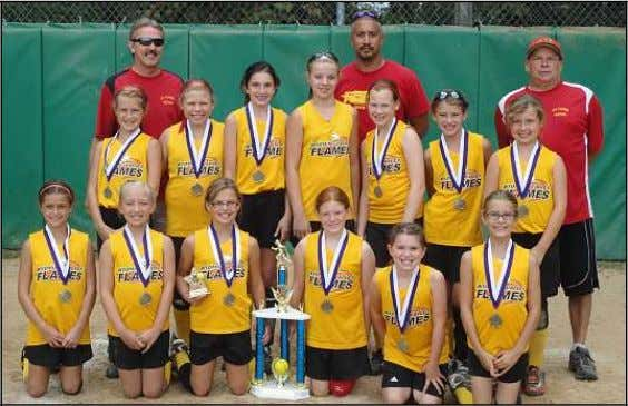 Kern and Lauren Mullery. FLAMES WIN BACK TO SCHOOL BASH The 2012 Wyoming Valley Flames 10u
