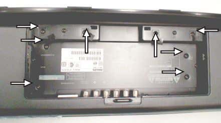 (pos 287) and dismantle the Rear Cover as shown in figure 2. Figure 2 3. Remove