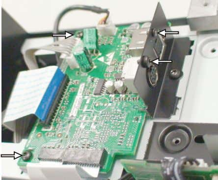 to dismantle the DIO board (pos 1040) as shown in figure 4. Figure 4 5. Remove