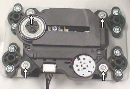 DVD Mechanism 1080 from the assembly as shown in figure 13. Figure 13 Dismantling of Door