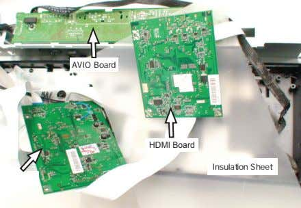 AVIO Board HDMI Board Insulation Sheet