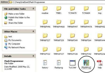 "in ""Flash Programmer"" folder as shown in figure 11. Figure 11 5.5.2. Preparing the Flash Programmer"