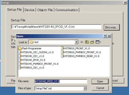 as described in table 3 (in next coming section 5.5.3). Figure 13 locate setup file For