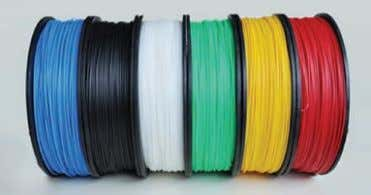 thickness: 0.20/0.25/0.30/0.35mm PRICES £849 FROM UP! Branded ABS Filament, now available in blue, black,