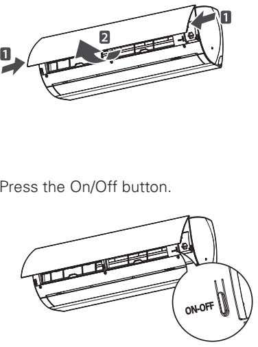 Press the On/Off button.