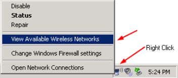 name (SSID) that you entered at step 6 and click Connect. The HOST configuration is done.