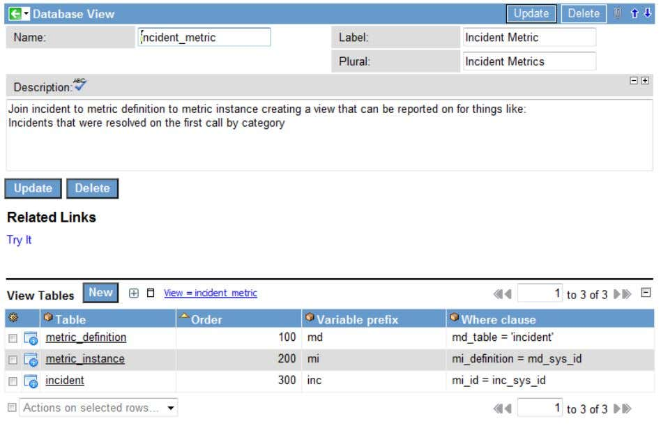 Database Views 2 Task 2: Add Tables to the Database View The Table field in the
