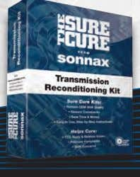 enhancements combined with hydraulic function repair? The Sure Cure ® Comprehensive kit for big problems you